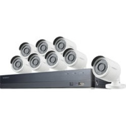 Wisenet SDH-C75083BF/CUS 16x8 Surveillance  Camera System found on Bargain Bro India from Crutchfield for $549.99