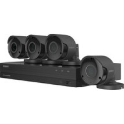 Wisenet SDH-B94047BF 8x4 All In One 4K Kit found on Bargain Bro India from Crutchfield.com for $349.99