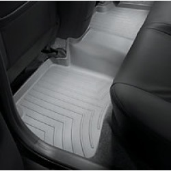 WeatherTech Grey Rear Liner  Grey Rear FloorLiner Each found on Bargain Bro India from Crutchfield.com for $74.99