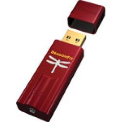 Red headphone amp DAC