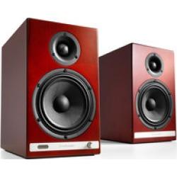 Audioengine HD6 powered speakers  (cherry)