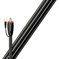 Audioquest Black lab 8 meter subwoofer cable found on Bargain Bro India from Crutchfield.com for $75.99