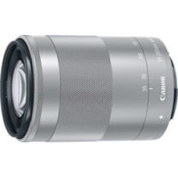 Canon EF-M 55-200mm Silver-f/4.5-6.3 IS STM Lens  for Canon M Series found on Bargain Bro India from Crutchfield for $349.00