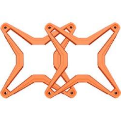 SSV Works WP-CGS-O  Chroma Grille Stars 1 Pair - Orange