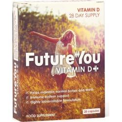 FutureYou Cambridge - Vitamin D+ 84 Capsules - Bone & Immunity Health Supplements - 28 Days Supply found on Bargain Bro UK from FutureYou Cambridge