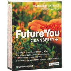 FutureYou Cambridge - Cranberry+ Supplements - Health Supplements - 56 Capsules