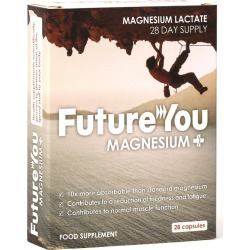 FutureYou Cambridge - Magnesium+ Mineral Supplement - Supplements for Energy - Highly Bioavailable - 28 Capsules found on Bargain Bro UK from FutureYou Cambridge