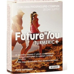 FutureYou Cambridge - Turmeric+ with patented Curcumin and Vitamin C - Joint Health Supplements - Highly Bioavailable - 28 Tablets found on Bargain Bro UK from FutureYou Cambridge