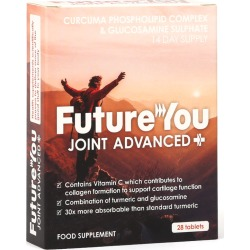 FutureYou Cambridge - Super Glucosamine Joint Advanced+ with Curcumin - Joint Health Supplements - 28 Tablets found on Bargain Bro UK from FutureYou Cambridge