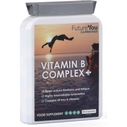 FutureYou Cambridge - Vitamin B Complex+ - Supplements for Energy - Highly Bioavailable Formulation - 84 Capsules found on Bargain Bro UK from FutureYou Cambridge