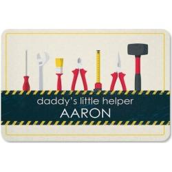 Daddy's Little Helper Personalized Doormat