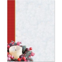 Candlelight Holiday Christmas Letter Papers found on Bargain Bro from currentcatalog.com for USD $6.07