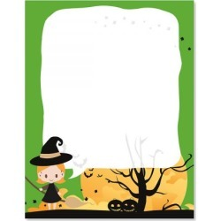 Witch Halloween Letter Papers found on Bargain Bro from currentcatalog.com for USD $6.07