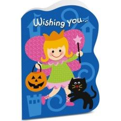 Girl Halloween Card