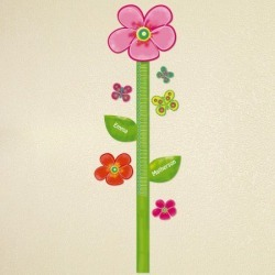 Personalized Flower Growth Chart