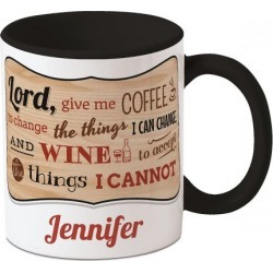 Coffee Wine Personalized Mug