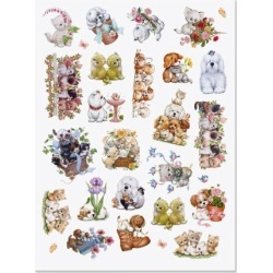 Cats & Dogs Stickers