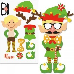 Decorate-Your-Own Elf Stickers found on Bargain Bro Philippines from currentcatalog.com for $2.99