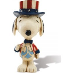 Patriotic Mini Snoopy™ Figurine by Jim Shore found on Bargain Bro India from currentcatalog.com for $17.99