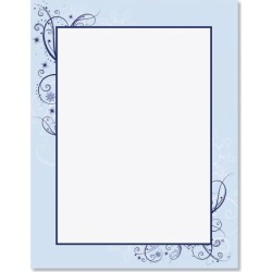 Frosted Glimmer Frame Christmas Letter Papers found on Bargain Bro from currentcatalog.com for USD $6.07