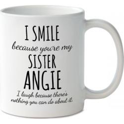 Smile Sister Personalized Mug
