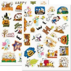 PEANUTS® Autumn Stickers - BOGO found on Bargain Bro Philippines from currentcatalog.com for $3.48