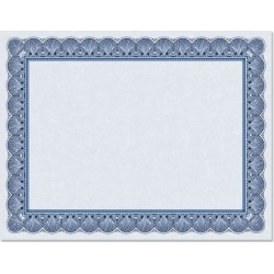 Elite Blue Certificate on Blue Parchment - Set of 10 found on Bargain Bro from currentcatalog.com for USD $5.31