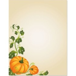 Pumpkin Vines Halloween Letter Papers found on Bargain Bro from currentcatalog.com for USD $6.07
