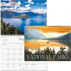 2017 National Parks Calendar found on Bargain Bro Philippines from currentcatalog.com for $7.49