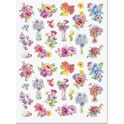Watercolor Floral Stickers - BOGO found on Bargain Bro Philippines from currentcatalog.com for $2.48