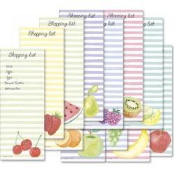 Fruit & Stripes Shopping List Value Pack