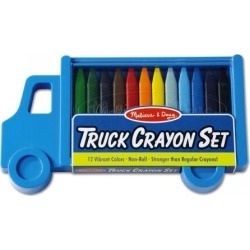 Truck Crayons & Carry Case