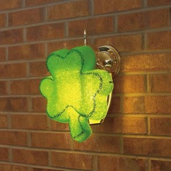 St. Patrick's Day Porch Light Cover