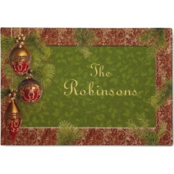 Christmas Personalized Welcome Doormat