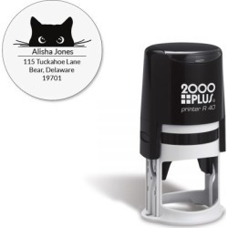 Cat Paws Round Self-Inking Address Stamp found on Bargain Bro India from currentcatalog.com for $19.99