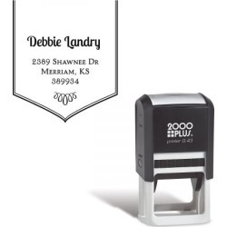 Banner Square Self-Inking Address Stamp found on Bargain Bro Philippines from currentcatalog.com for $18.99