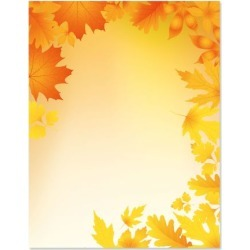 Autumn Leaves Halloween Letter Papers found on Bargain Bro from currentcatalog.com for USD $6.07