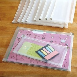 Zip-Top Plastic Envelopes in 2 Sizes found on Bargain Bro Philippines from currentcatalog.com for $10.00