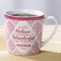 Always Believe Inspirational Mug