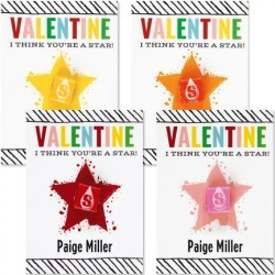 Star Personalized Valentines found on Bargain Bro from currentcatalog.com for USD $3.03
