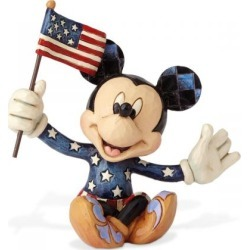 Mini Patriotic Mickey Mouse Figurine by Jim Shore found on Bargain Bro India from currentcatalog.com for $18.99