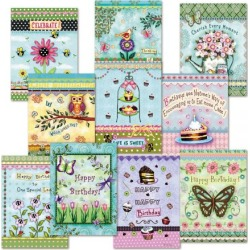 Scrapbook Borders Birthday Cards Value Pack found on Bargain Bro Philippines from currentcatalog.com for $9.99