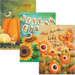 Expressions of Faith® Give Thanks Thanksgiving Cards