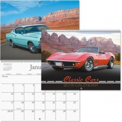 2016 Classic Cars Calendar