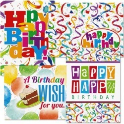 Colorful Confetti Birthday Cards found on Bargain Bro India from currentcatalog.com for $6.49