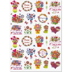 Spring Salutation Stickers found on Bargain Bro Philippines from currentcatalog.com for $3.99