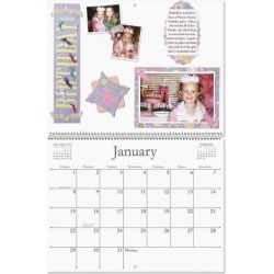 Blank 2017 White Pages Crafters' Calendar found on Bargain Bro India from currentcatalog.com for $7.49