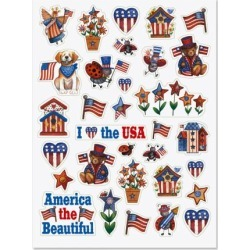 Patriotic Stickers found on Bargain Bro Philippines from currentcatalog.com for $2.98