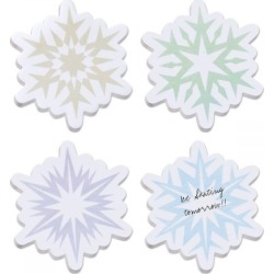 Snowflake Sticky Note Pads