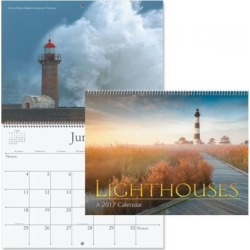 2017 Lighthouses Calendar found on Bargain Bro Philippines from currentcatalog.com for $7.49